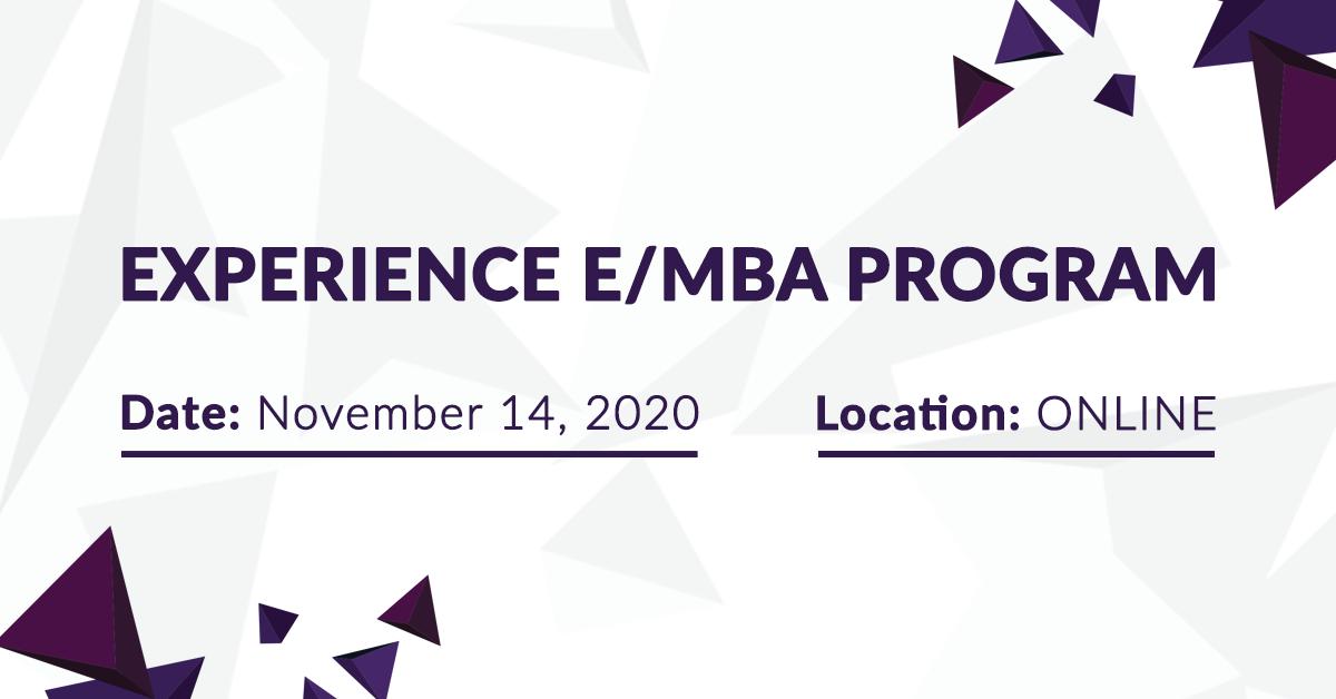 Experience E/MBA